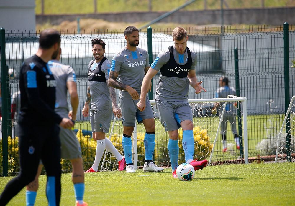 Trabzonspor Göztepe maçı hazırlıklarını sürdürdü