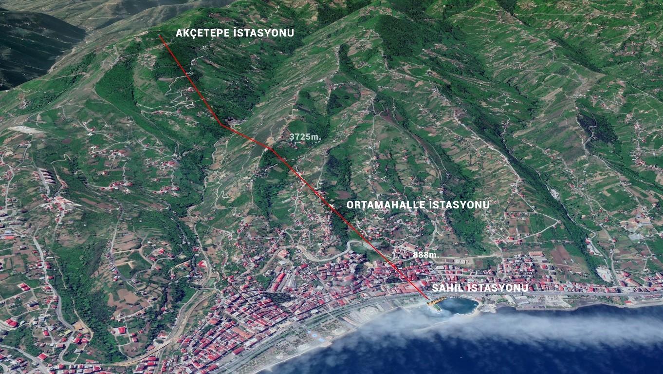 Trabzon'un köftesi, Orta mahallesi ve yaylaları ile ünlü ilçesi teleferik projesi için harekete geçti