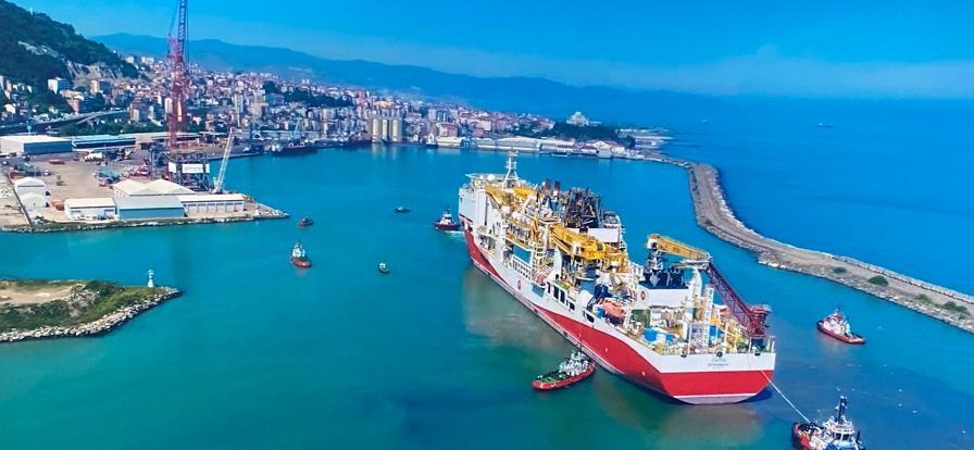 Fatih Sondaj Gemisi 25 Haziran'da Trabzon'dan ayrılacak