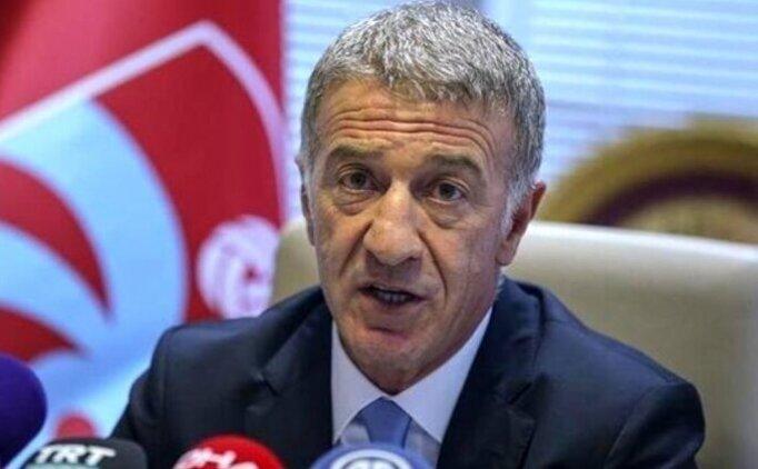 """Trabzonspor Kulübü Başkanı Ahmet Ağaoğlu: """"Djaniny Semedo ile hemen hemen bütün şartlarda anlaştık"""""""