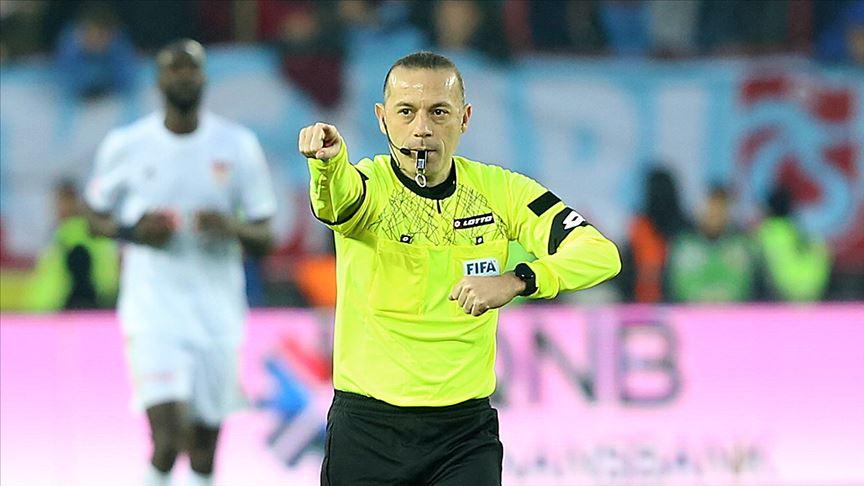 Galatasaray maçını Cüneyt Çakır yönetecek