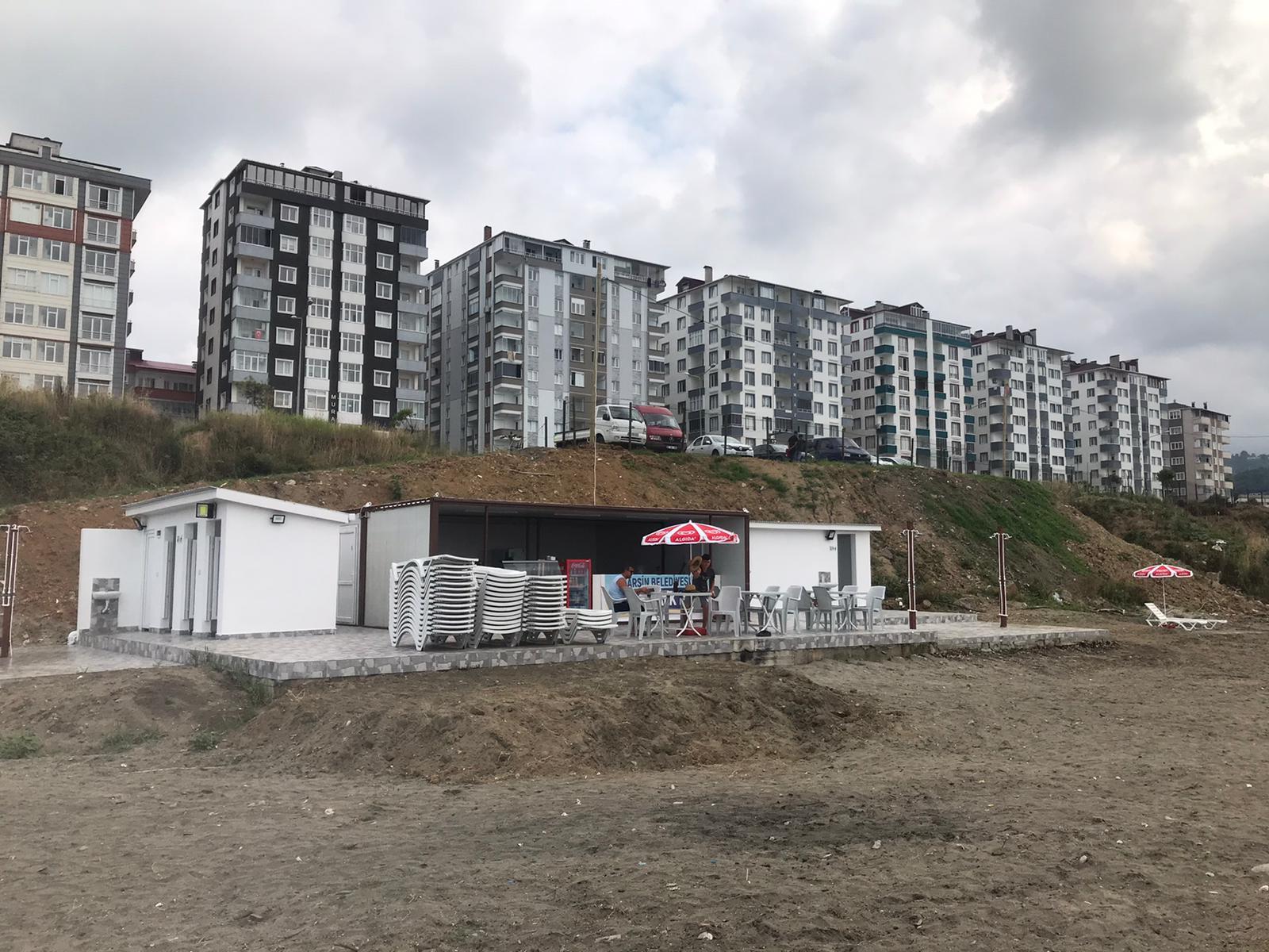 Arsin Belediyesi Halk & Aile Plajımız Hizmete Açıldı