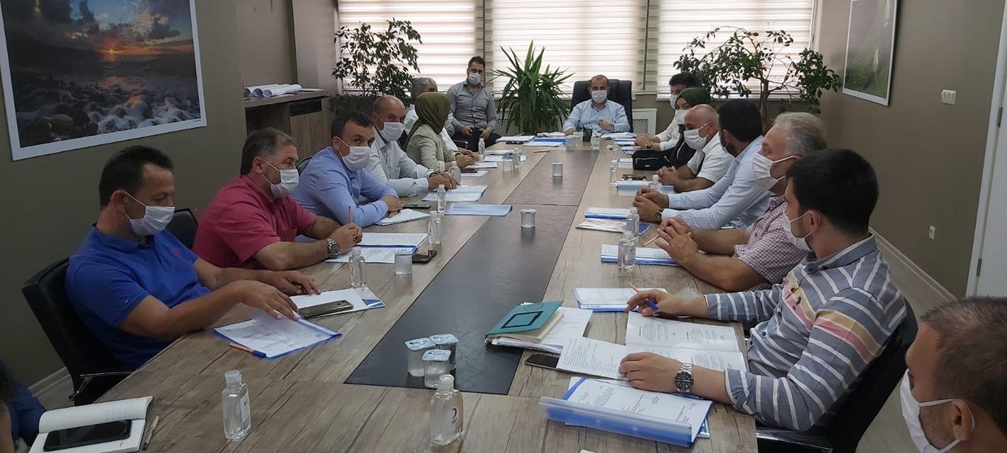 Arsin Belediye Meclisinde Encünem ve Komisyon Üyeleri Seçildi!
