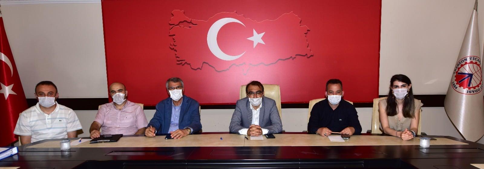 """Trabzon'da """"MEGİP İl Çalışma Grubu Toplantısı"""" yapıldı"""