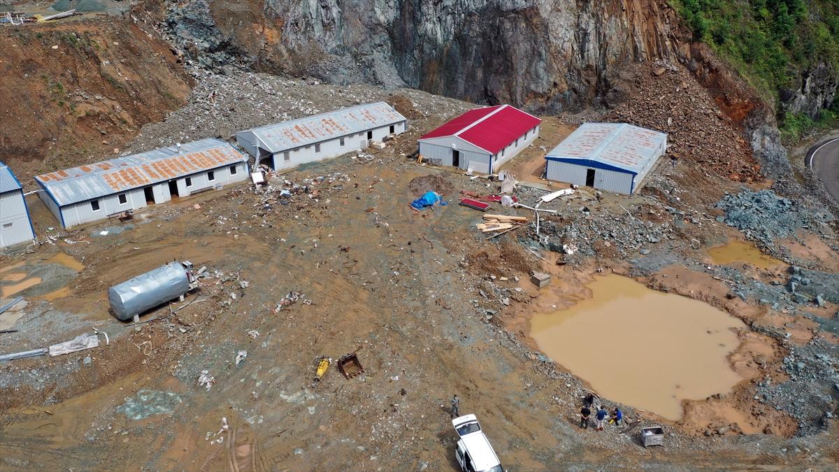 Trabzon'da şantiye işçilerinin dikkati hayatlarını kurtardı