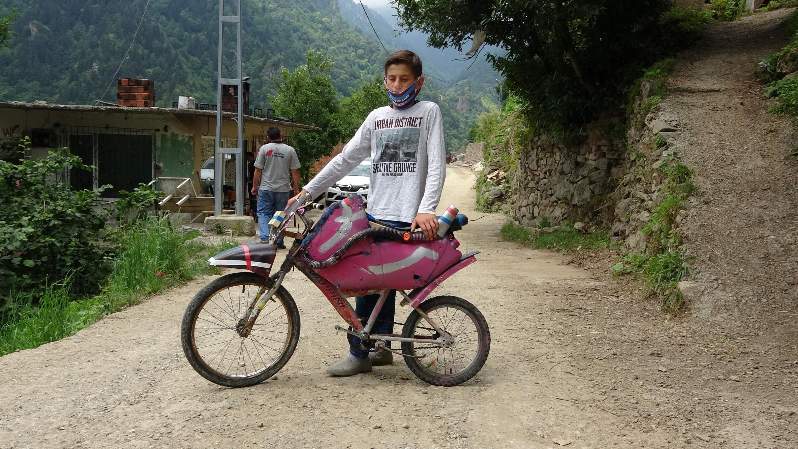 Motoru olmayan motosiklet