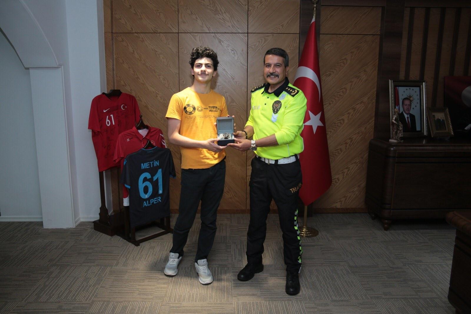 Trabzon'da yaklaşık 14 bin öğrenci arasında birinci oldu