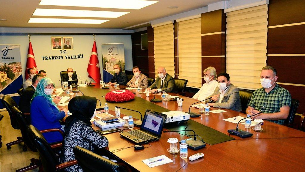 Trabzon İl Umumi Hıfzıssıhha Kurulu Toplantısı yapıldı