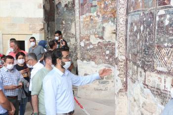 Sümela Manastırı'ndaki frekslerde tahribat oluştuğu iddiası