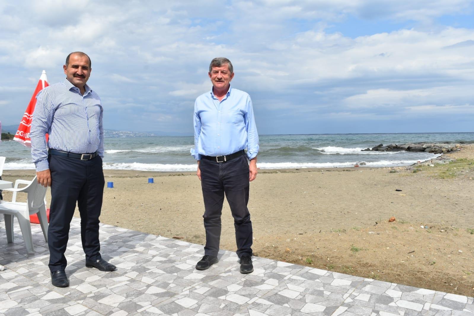 Revi'den Arsin Belediye Plajına Ziyaret