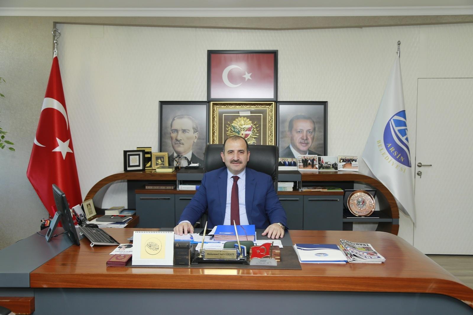 Başkan Gürsoy'dan 30 Ağustos Zafer Bayramı Mesajı