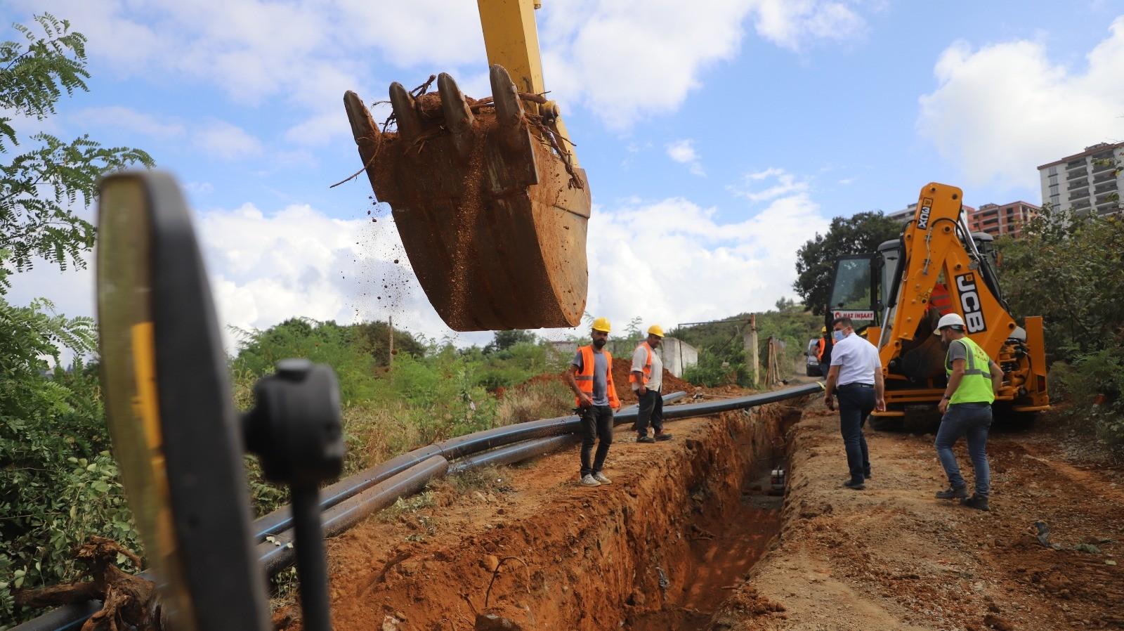 Ortahisar'ın içme suyu hattı sil baştan yenileniyor