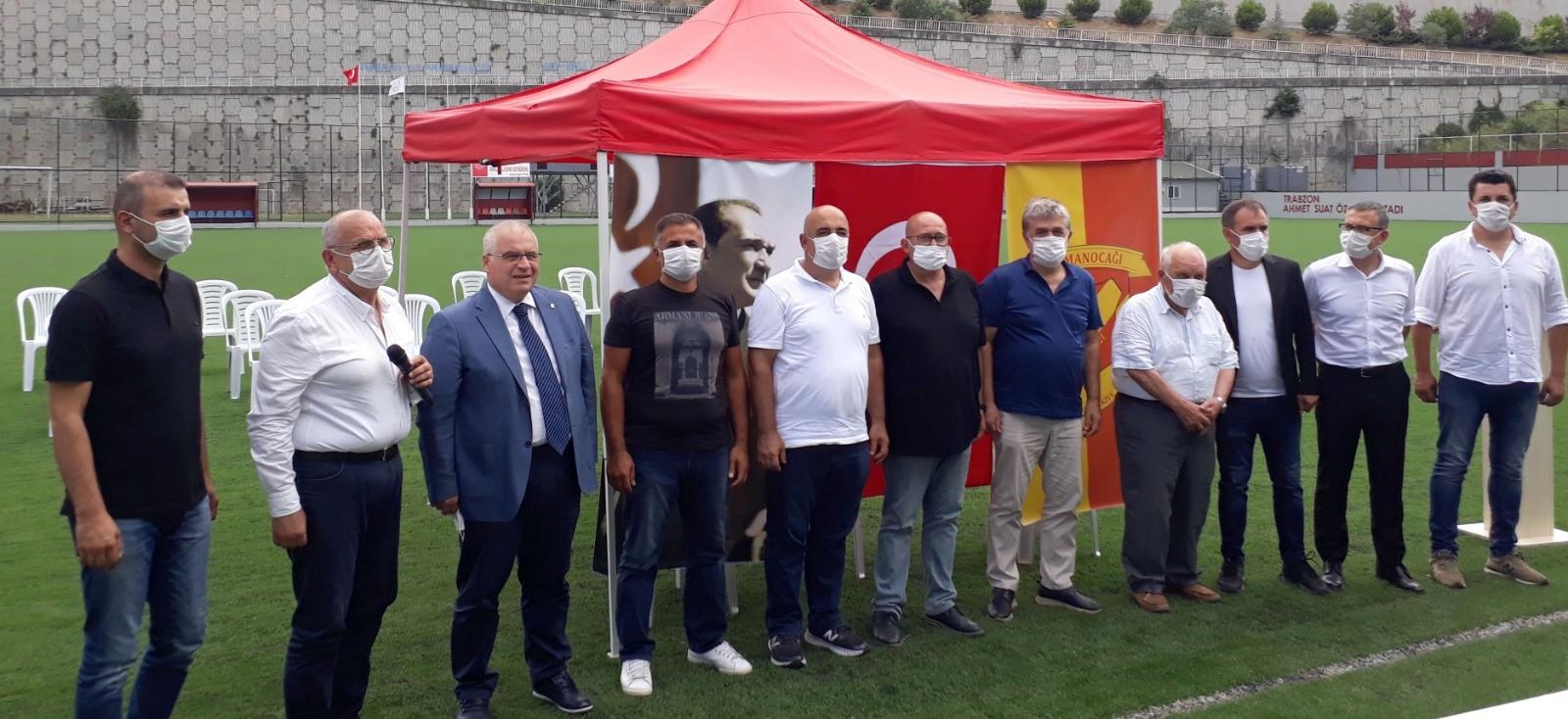 Trabzon'un asırlık kulübü İdmanocağı'nda görev değişimi