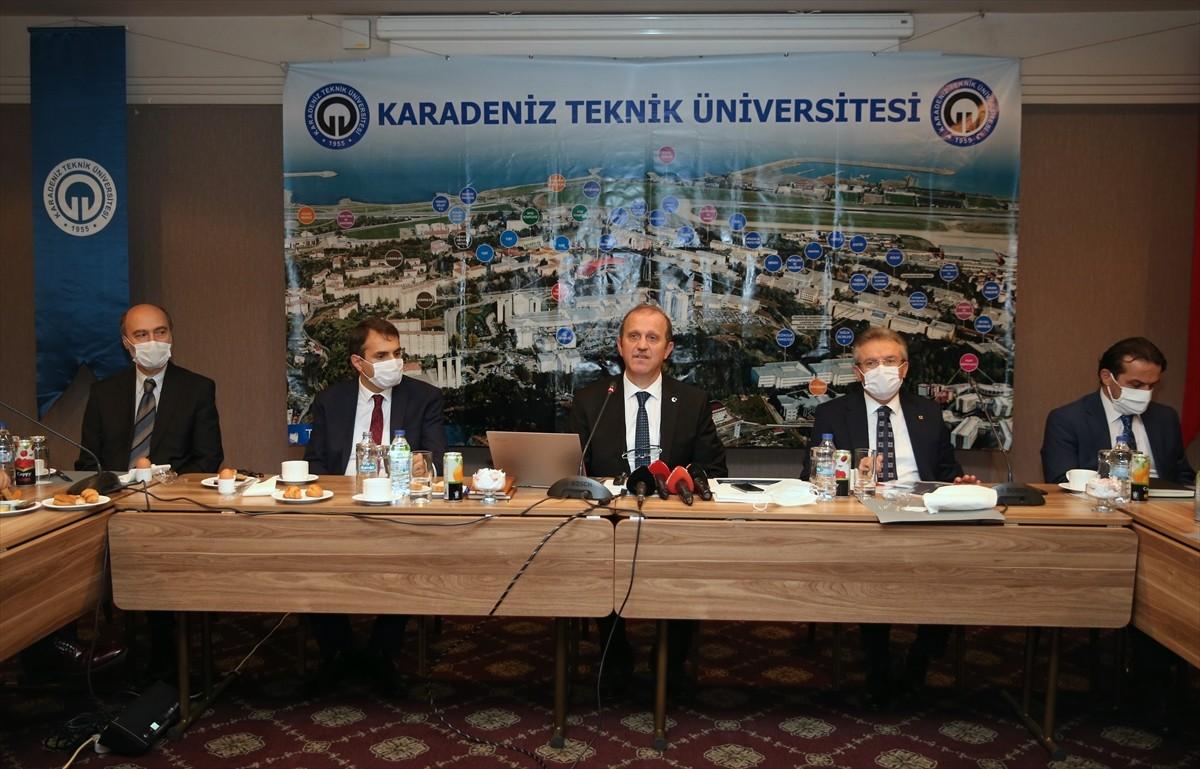 """KTÜ Rektörü Prof. Dr. Hamdullah Çuvalcı :-""""Bizim en büyük hedefimiz araştırma üniversitesi olmak"""""""
