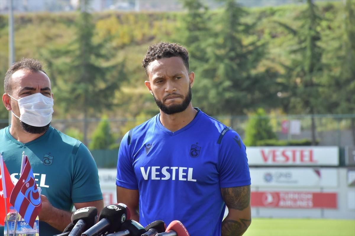 """Trabzonspor'un orta alan oyuncusu Lewis Baker: """"Benim için yeni meydan okuma"""""""