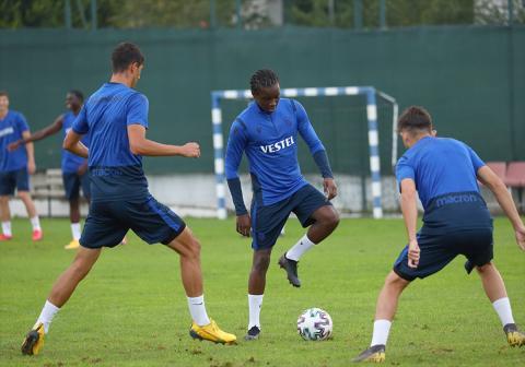Trabzonspor, Yeni Malatyaspor maçının hazırlıklarını tamamladı