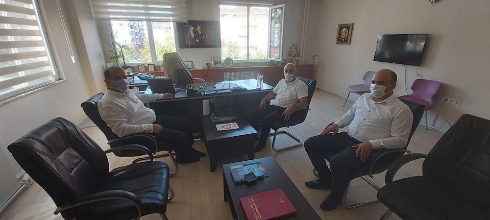 Başkan Gürsoy'dan Okullara Ziyaret