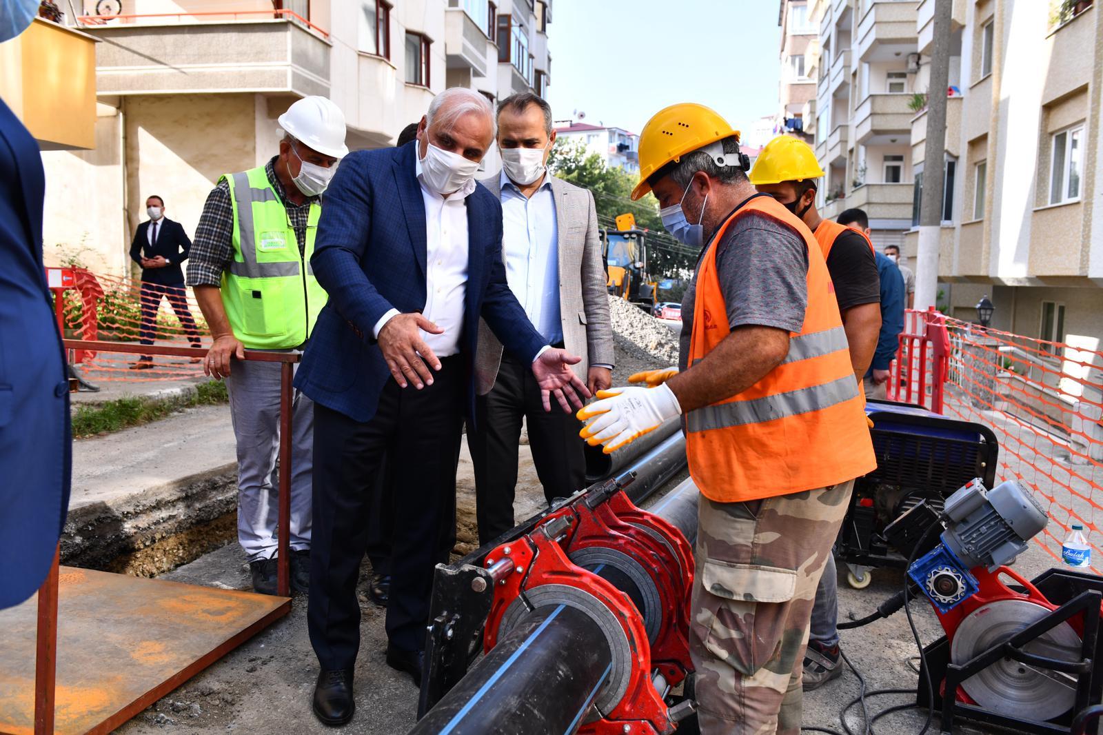 Başkan Zorluoğlu Dev Projenin Çalışmalarını İnceledi