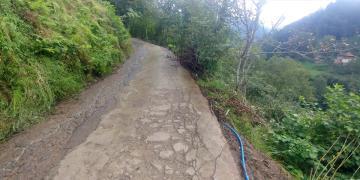Trabzon'da yol bakım çalışmaları