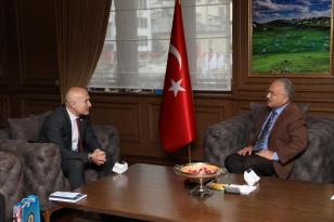"""Gürcistan'ın Trabzon Başkonsolosu Japaridze: """"Türkiye'deki başarıları takip ediyoruz"""""""