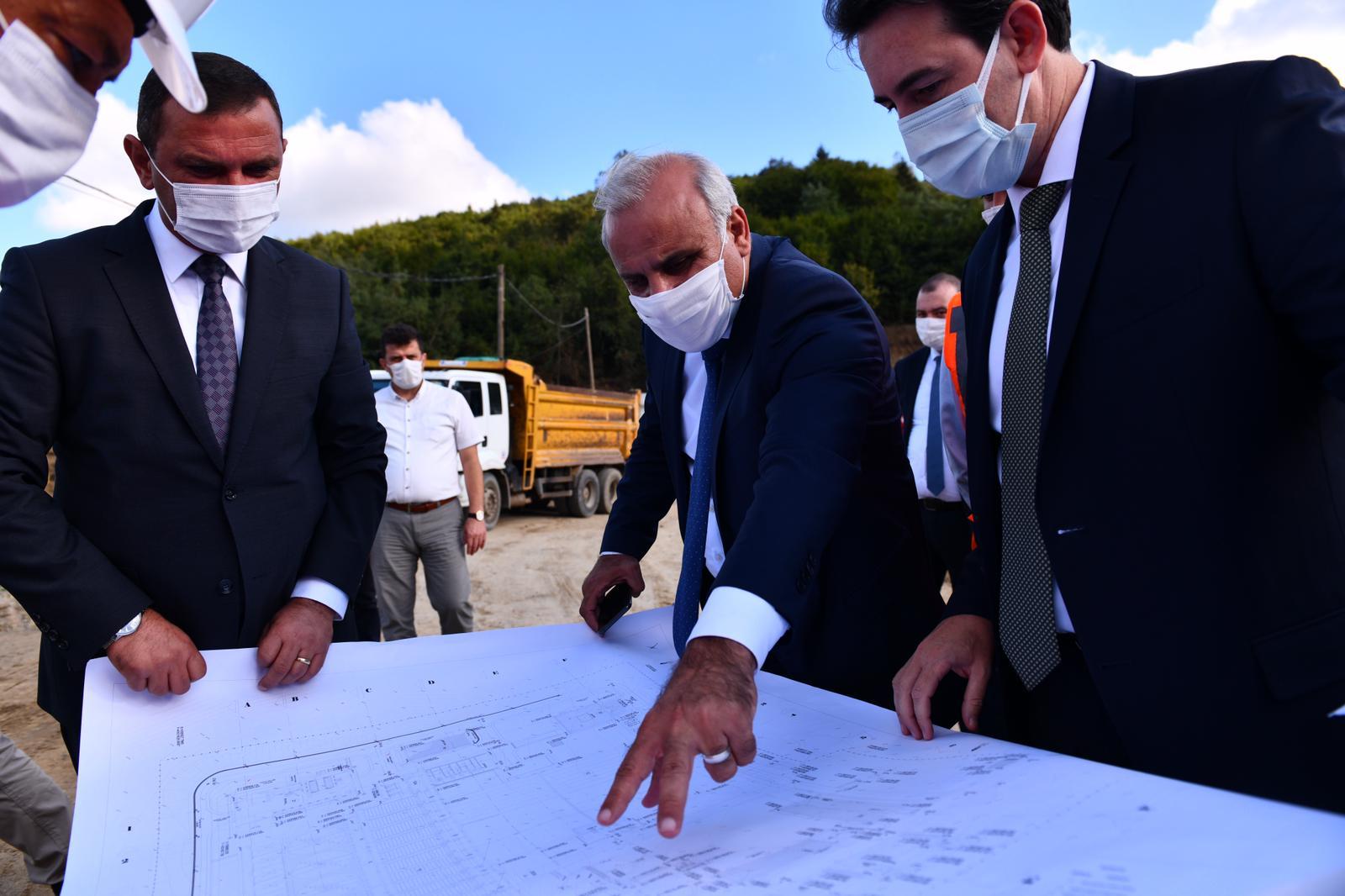 Başkan Zorluoğlu Akoluk İçme Suyu Arıtma Tesisini İnceledi