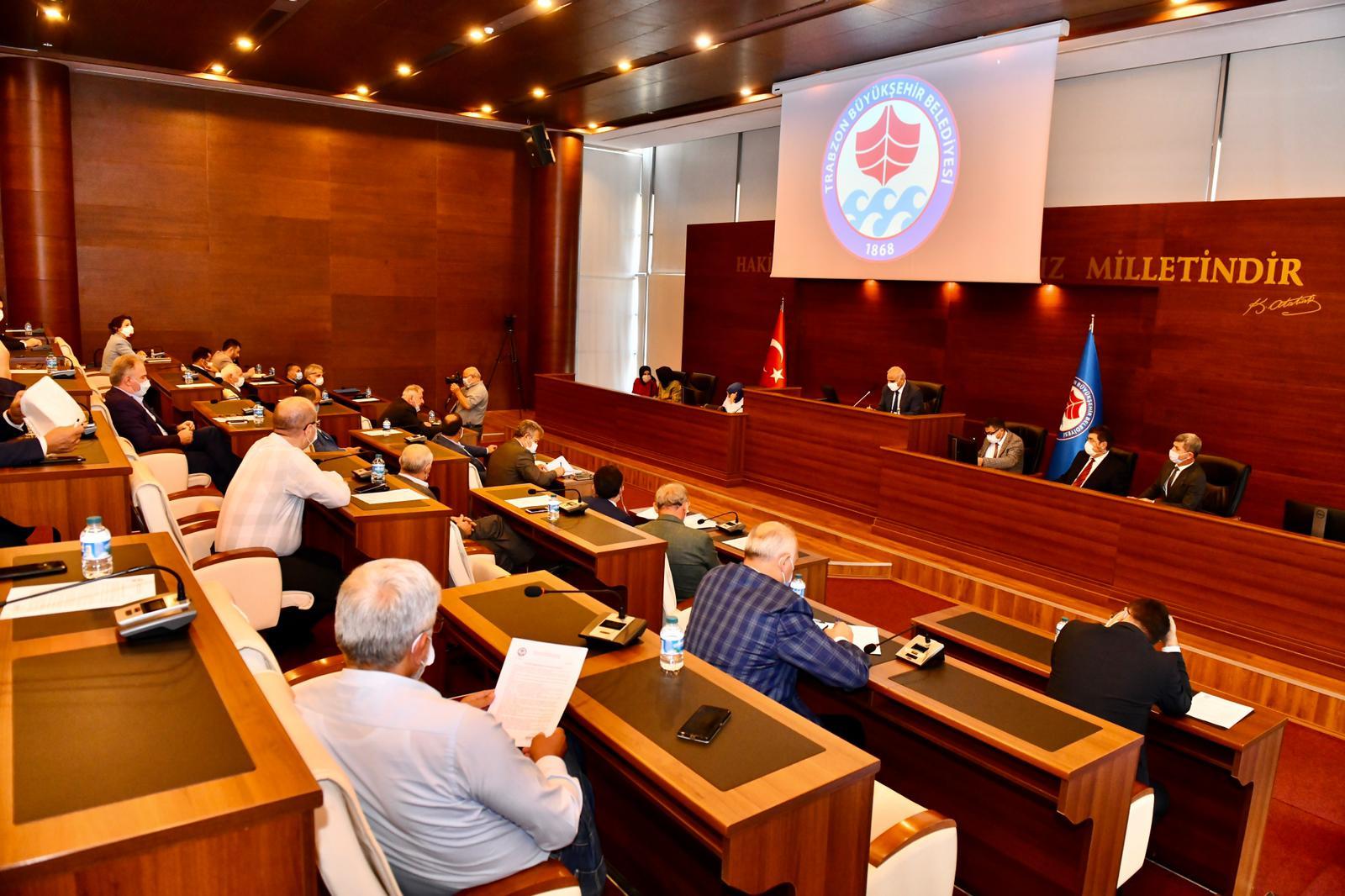 Büyükşehir Belediye Meclisi Ekim Ayı İlk Toplantısı Yapıldı