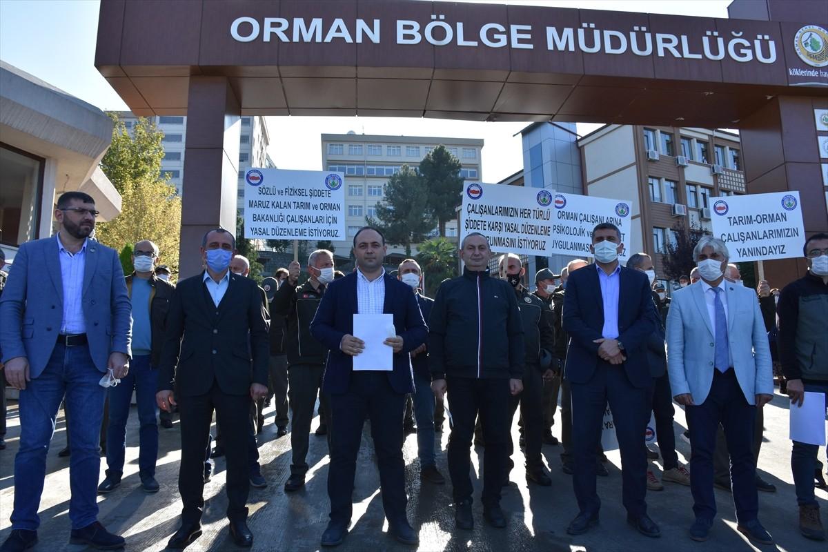 TOÇ-BİR-SEN Trabzon Şubesi kamu çalışanlarının uğradığı saldırıyı kınadı