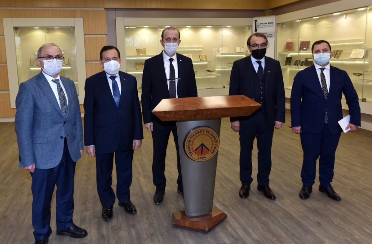 KTÜ Rektörü Prof. Dr. Hamdullah Çuvalcı'dan TTSO'ya ziyaret