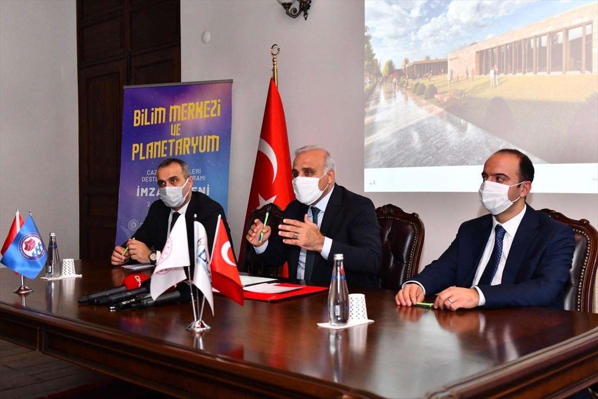 "Trabzon'da ""Planetaryum ve Bilim Merkezi"" kurulacak"