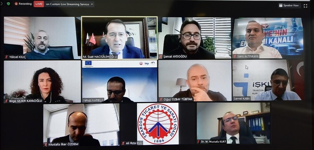 Trabzon'da iş dünyası temsilcileri ve KOBİ'ler destekler konusunda bilgilendirildi