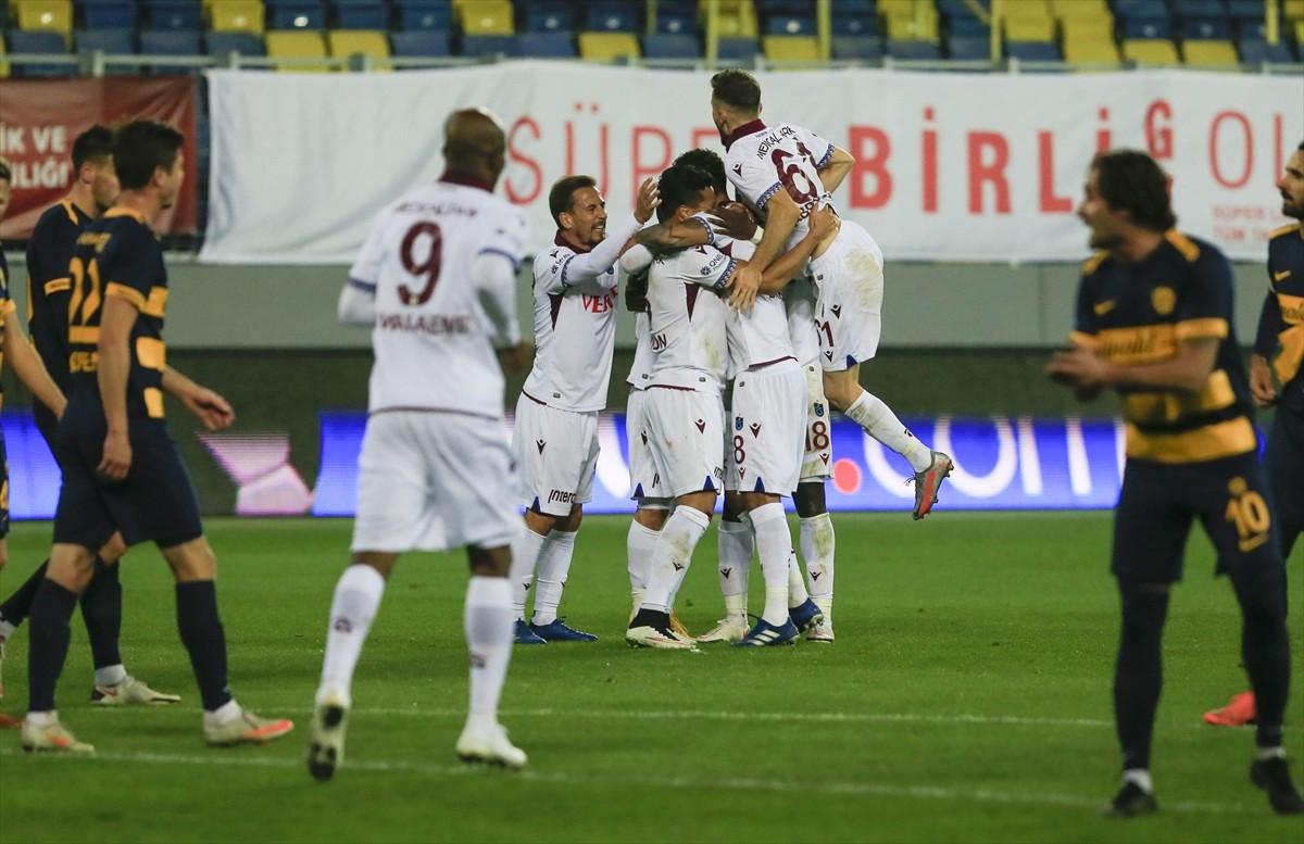 MKE Ankaragücü-Trabzonspor maçından notlar