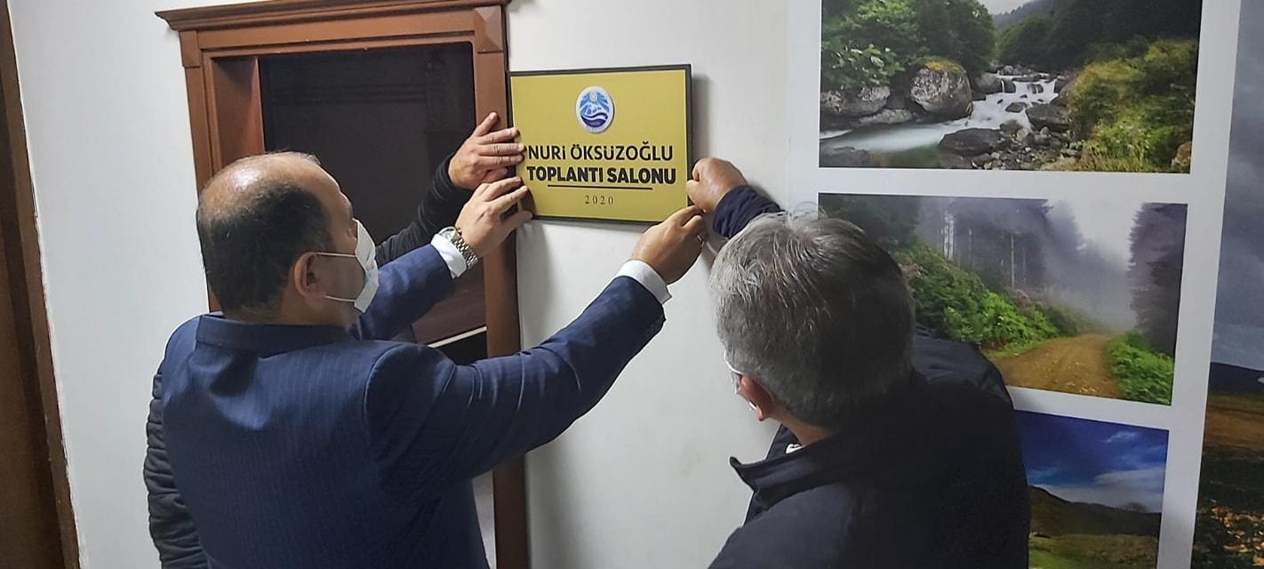 Öksüzoğlu'nun Adı Belediyede Yaşatılacak
