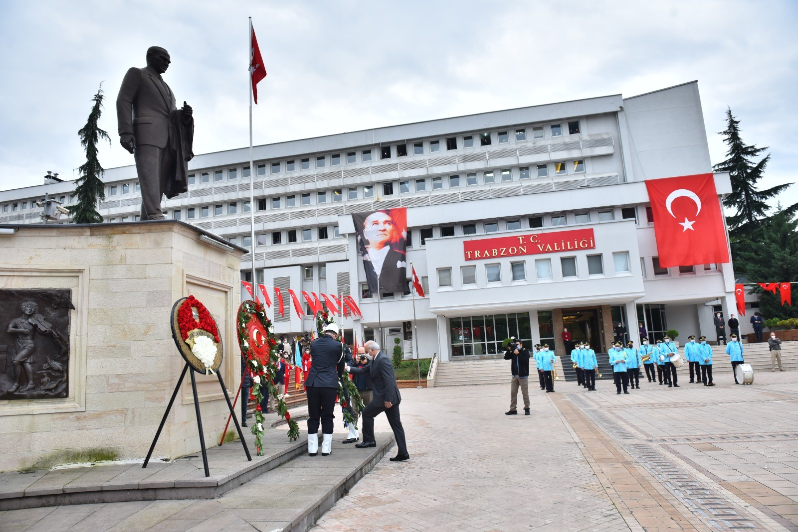 TRABZON'DA ATATÜRK'Ü ANMA PROGRAMI DÜZENLENDİ