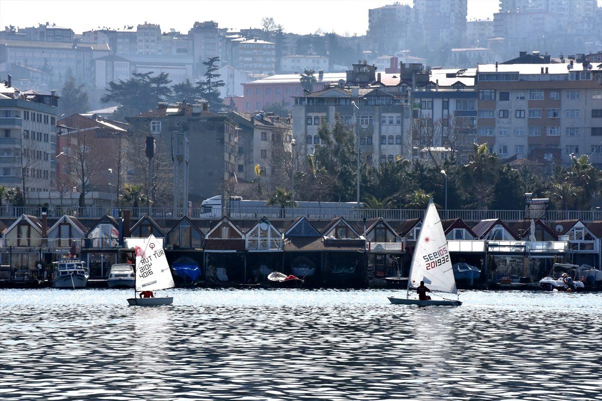 Trabzon'da yelken yarışları düzenlendi