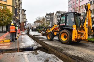 Trabzon Büyükşehir Belediyesinin altyapı çalışmaları