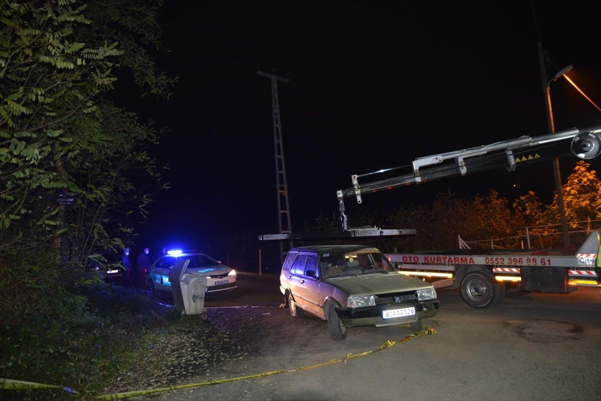 Trabzon'da jandarma ekiplerine otomobille çarparak kaçan 2 kişi aranıyor