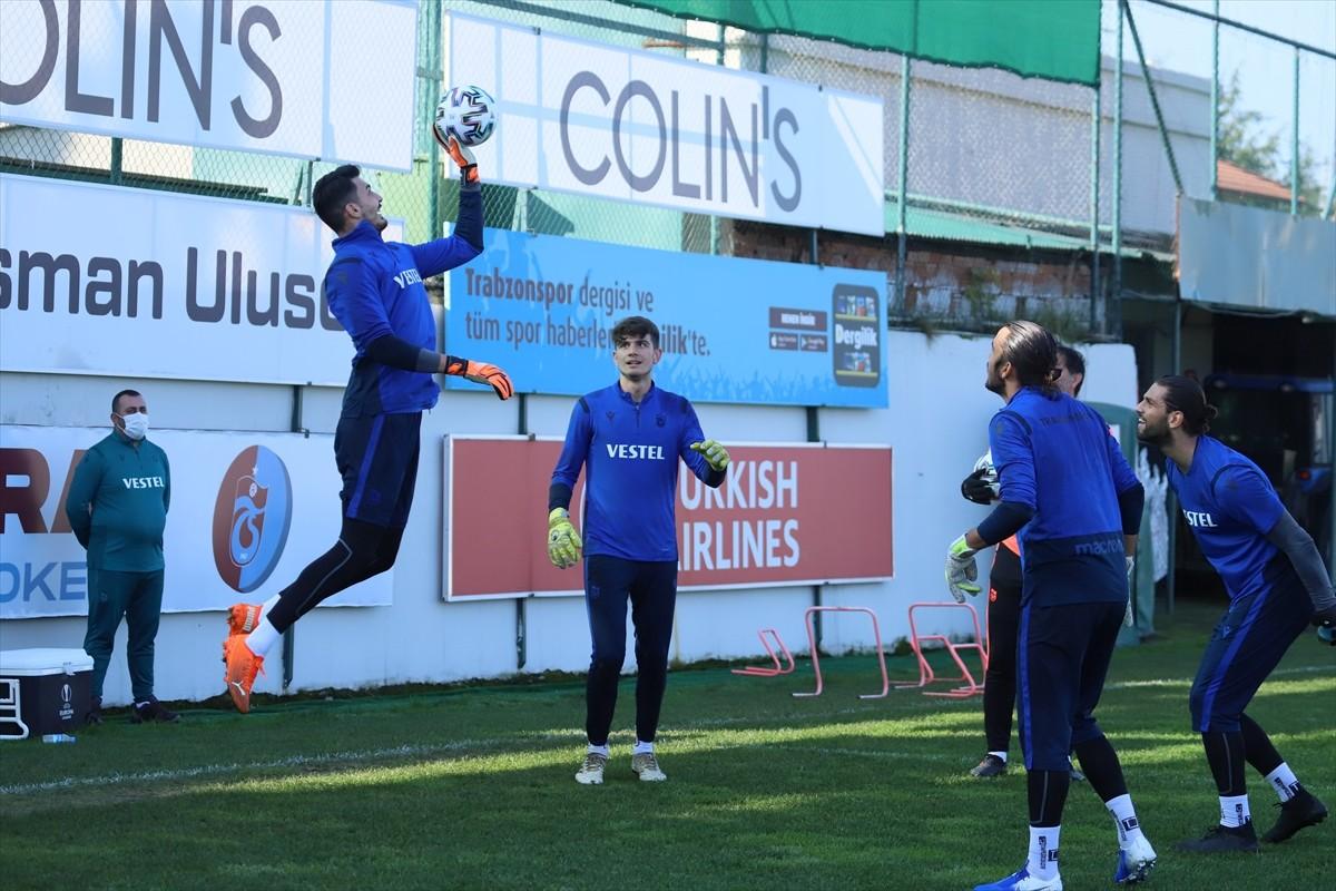 Trabzonspor'da Demir Grup Sivasspor maçı hazırlıkları