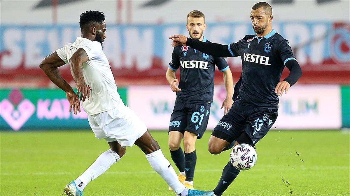 Trabzonspor'un galibiyet serisi son buldu
