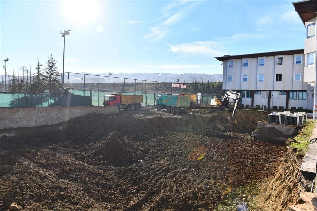 Trabzon'da Sporda Performans Ölçüm ve Yetenek Merkezi'nin yapımı sürüyor