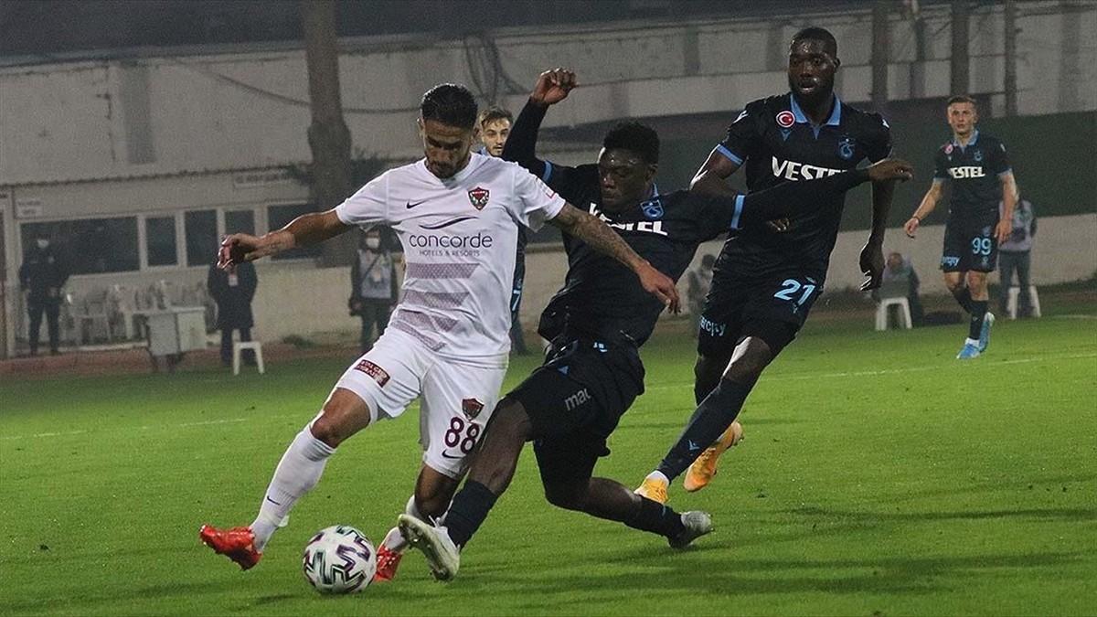 Trabzonspor'a iç ve dış saha fark etmiyor