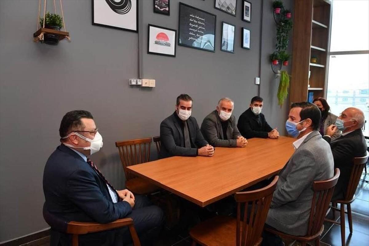 Ortahisar Belediye Başkanı Genç, TSYD Trabzon Şubesi'ni ziyaret etti