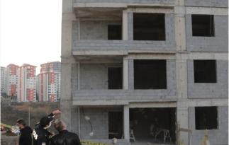 Trabzon'da inşaatın 9'uncu katından düşen işçi hayatını kaybetti