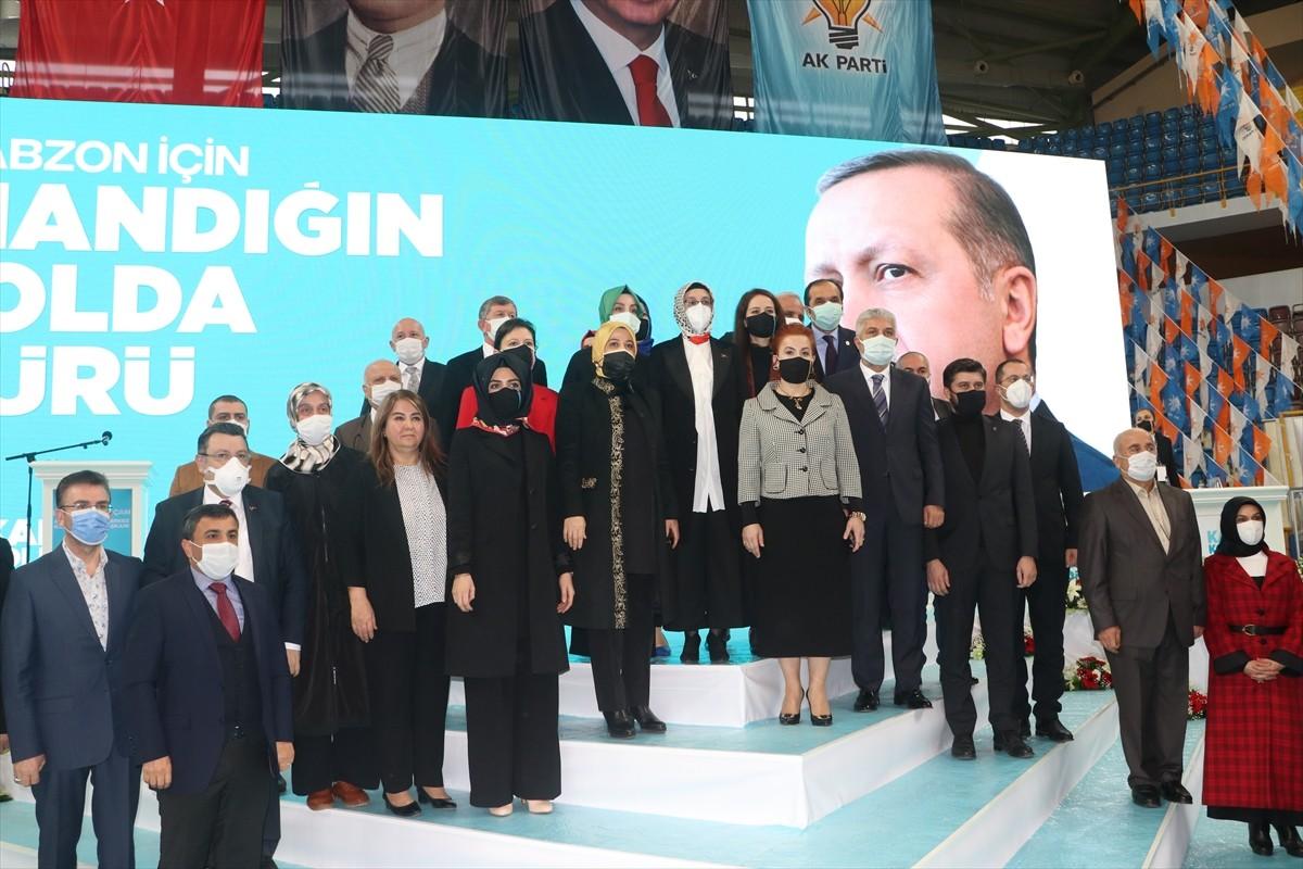 AK Parti Genel Merkez Kadın Kolları Başkanı Çam, Trabzon kongresinde konuştu
