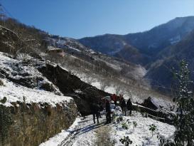 Trabzon'da kar nedeniyle oluşan heyelanda 2 ev zarar gördü