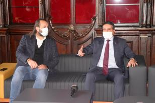 Emniyet Müdürü Alper'den Trabzon Gazeteciler Cemiyetine ziyaret