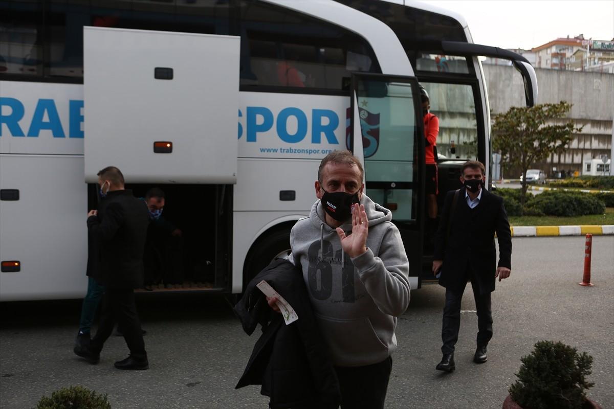 Trabzonspor kafilesi, İstanbul'a gitti