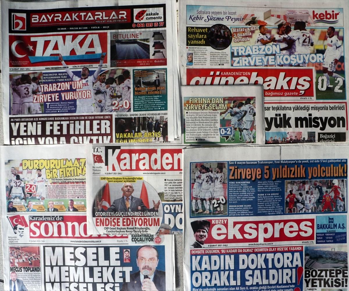 Trabzon yerel basınında, Yeni Malatyaspor galibiyeti sevinci