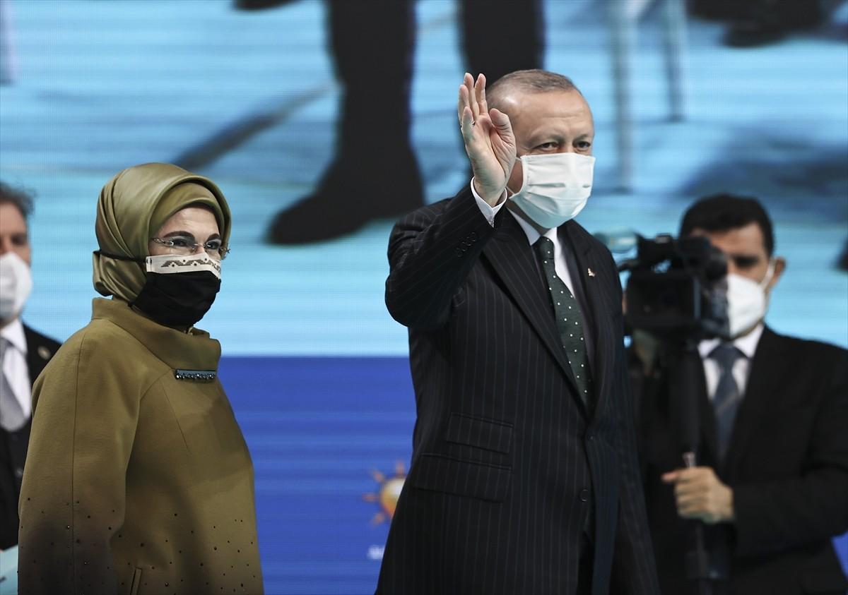 Cumhurbaşkanı Erdoğan AK Parti Trabzon 7. Olağan İl Kongresi'nde konuştu: