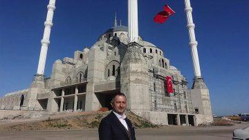 Trabzon'da aynı anda 10 bin kişinin ibadet edebileceği caminin kaba inşaatı tamam