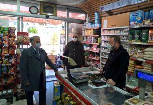 Trabzon'da Kovid-19 denetimleri sürüyor
